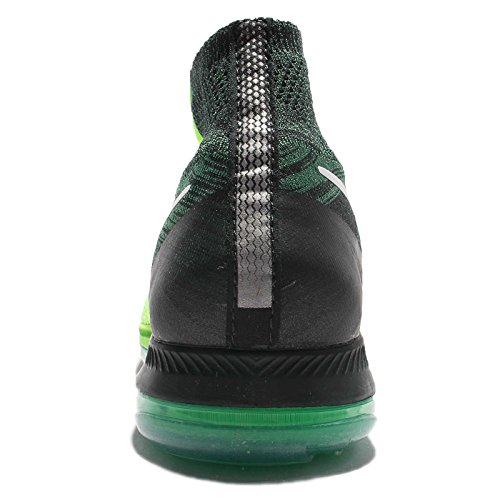 Nike Herren Zoom All Out Flyknit Laufschuh Geistgrün / Weiß