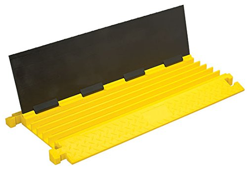 Light-Duty Cable Ramp - BBB5-125 Series; Length: 36''; Width: 18''; Height: 2''; Channel Width: 1.25''; Channel Height: 1.25''; Capacity Per Tire (LBS): 6,000; Capacity Per Axle (LBS): 12,000; Channels: 5