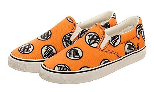 Dragon Ball Z Shoes For Sale (Dragon Ball Z Turtle Orange Unisex Dek Shoes (Mens 12.0/Womens 13.5))