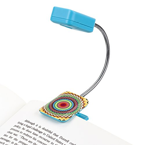 Price comparison product image LED Book Light By French Bull - Mosaic Zig - LED Book Light - Book Reading Light - LED Reading Light