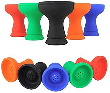 Silicone Hookah Head Bowl Non Stick Easy Clean Hookah Shisha Accessories
