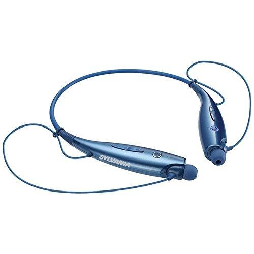 Sylvania SBT129 BLUE Sports Bluetooth Headphones
