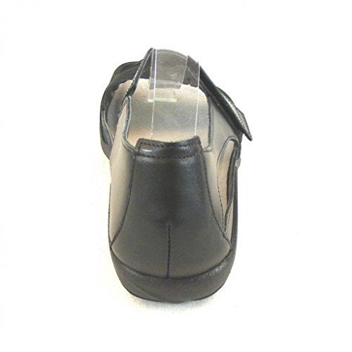 Schwarz Naot Combi Schuhe Leder Sandaletten Damen Papaki Wechselfußbett 14047 7qXnrqUB