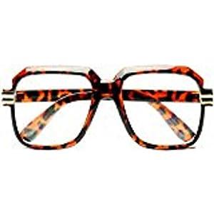 HIP Hop Rapper Retro Large Oversized Clear Lens Eye Glasses