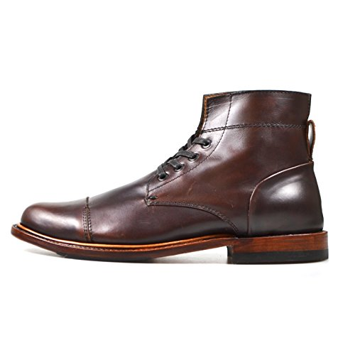 Sutro Footwear Men's Leather Chukka Lace Up Boots Handcrafted, Hand Stitched With Goodyear Welted Sole - Alder II-D Ciclon - Alder Footwear