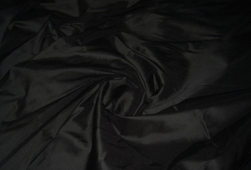 BLACK Shot Silk Taffeta Curtain & Bridal wear DRESS fabric