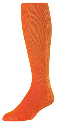 Twin City Acrylic Multi Sport Tube Sock, Orange, - Platform Acrylic Multi