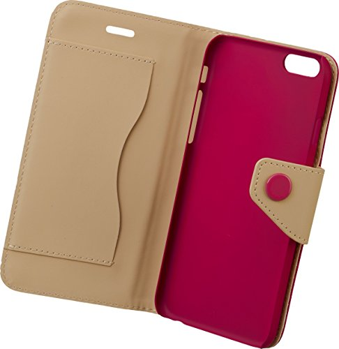 Iphoria fun trend étui de protection à rabat pour apple iPhone 6 magenta