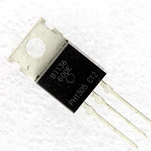 Price comparison product image HONWEN 10PCS BT136-600 BT136-600E NXP TRIAC 600V 4A TO220AB