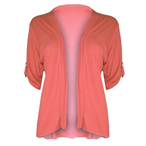 Oops Outlet-Chaqueta para mujer Corail - Grande taille surdimensionné