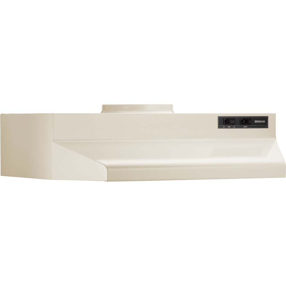 Broan 423001 ADA Capable Under-Cabinet Range Hood, 190 CFM 30-Inch, White