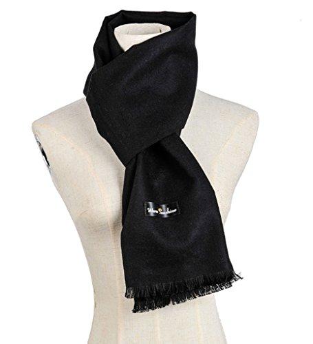 Warm Sunshine Men /Women Solid Super Soft Luxurious Cashmere Feel Winter Scarf