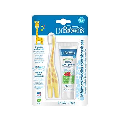 Dr. Brown's Infant-to-Toddler Toothbrush,