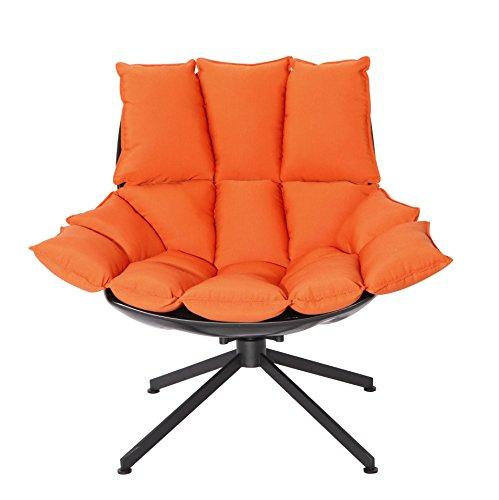 replica-newest-design-outdoor-furniture-black-fiberglass-shell-orange-waterproof-fabric-360-swivel-b