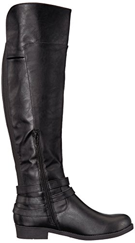 LifeStride Women's Delilah Equestrian Boot, Black, 7.5 M US by LifeStride (Image #7)