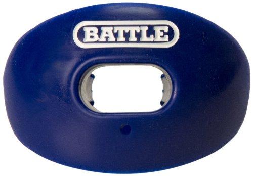 Battle Oxygen Lip Protector Mouthguard, Navy Blue