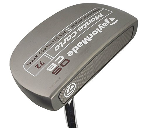 TaylorMade N1530328 Big Red OSCB Monte Carlo Putter, Right Hand, 36″