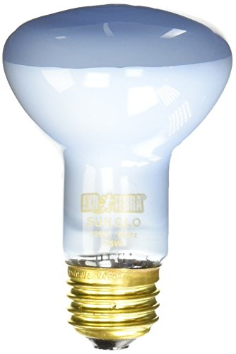 Exo Terra Sun-Glo Basking Spot Lamp, 75-Watt/120-Volt (Light Bulbs Reptile)