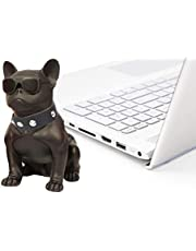 Portable wireless Speaker In the Shape of Cool Dog for Home or Beach ch-m10 (Black)