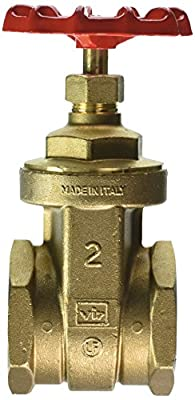 "Red-White Valve 2RW206AB Lead Free Commercial Gate Valve Threaded, 2"" from Standard Plumbing Supply"