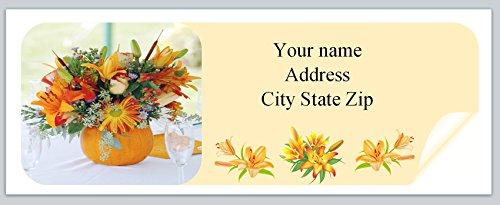 urn Address Labels Fall Autumn (ac 974) ()