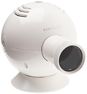 Karlsson Projection Clock Ovo White Amazon Co Uk