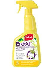 Safer's 31-6025CAN End-All Miticide/Insecticide/Aracicide 1L Ready-to-Use Spray