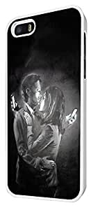 107 - Banksy Grafitti Art Mobile Lovers DesignDesign For iphone 5 5S Fashion Trend CASE Back COVER Plastic&Thin Metal