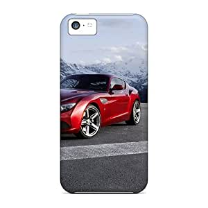 New Front Of Red Bmw Z4 Zagato Tpu Cases Covers, Anti-scratch FqL8829Wndc Phone Cases For Iphone 5c