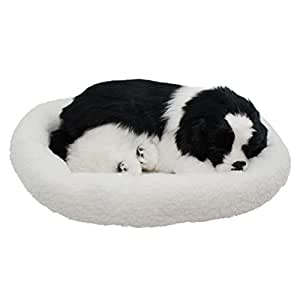 Amazon.com: Tplay Breathing Dog Puppy Plush Toy with Bed