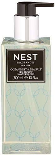 (NEST Fragrances Scented Liquid Hand Soap- Ocean Mist & Sea Salt , 10 fl oz)