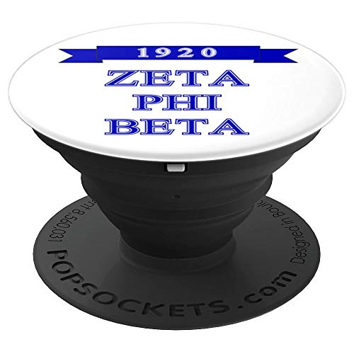 (1920 Zeta Phi Beta Phone Grip & Stand - PopSockets Grip and Stand for Phones and Tablets)