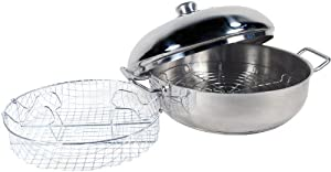 Amazon Com Excelsteel 4 1 2 Quart Stainless Cook All Pan