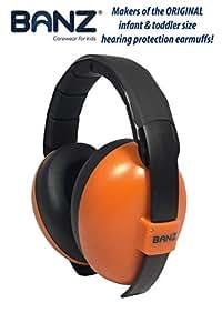 Banz Mini Earmuffs, Orange