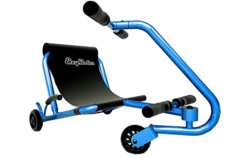 Ezyroller Junior - Blue - Ride On for Children Ages 3 to 6 Years Old - New Twist on Classic Scooter - Kids Move by Pushing Handles Back and Forth - Fun Play and Exercise for Boys and Girls