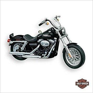 HARLEY DAVIDSON MOTORCYCLE #9 2007 HALLMARK KEEPSAKE ORNAMENT QX2349 by Hallmark - Hallmark Harley Davidson