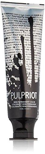 Pulp Riot Semi-Permanent Hair Color for Unisex, Lemon Yellow, 4 Ounce - Dye Lemon