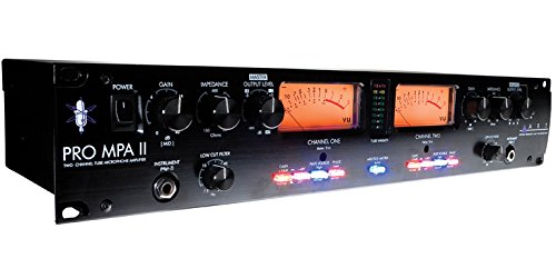 ART ProMPAII Two Channel Discrete Class A Microphone Preamp by ART