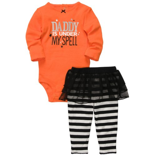 Carter's Baby Girls Halloween Tutu 2-piece Set (NB-24M) (6 Months)