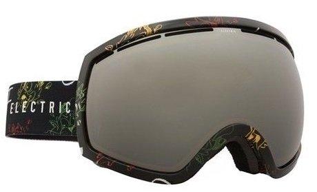 Eg2 Snowboard Goggles Electric (Cartoon Rasta W/ Bronze/Silver Electric Eg2 Mens Oversized Ski Snowboard Goggles + Lens)