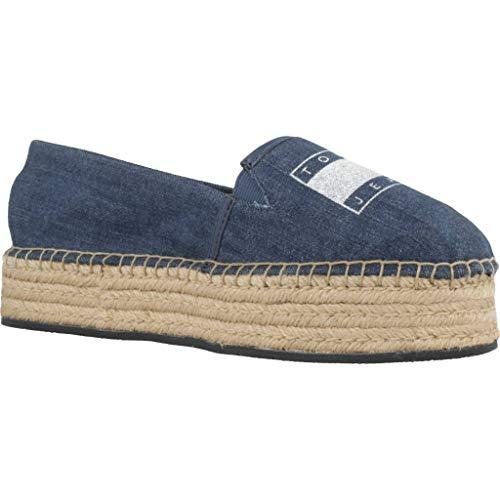 Mujer Mujer Azul Tommy Color Azul Jeans Modelo Marca Jeans Para En0en00571 Alpargatas 8qAFOw