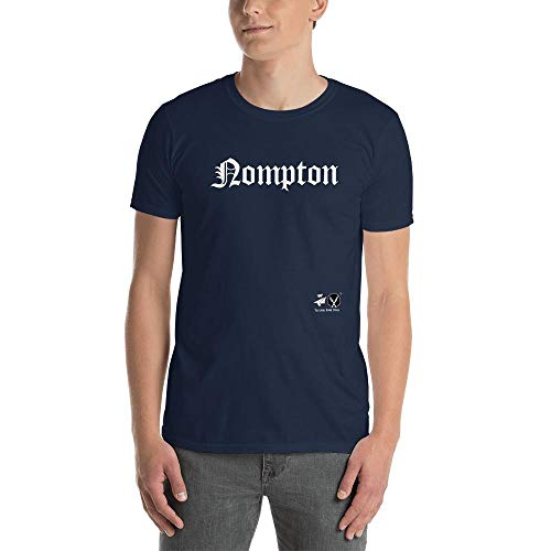 Nompton Men T-Shirt (White Font) - Navy - S for sale  Delivered anywhere in USA