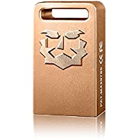 TOPMORE ZH+ Series USB 3.0 Flash Drive Flash Disk Portable USB Memory Stick (128 GB, Rose Gold)