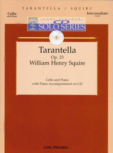 Tarantella for Cello and Piano w/ acc. CD