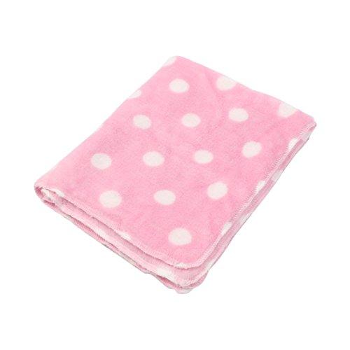 Amazon.com : DealMux flanela Imprimir Dot Pet Cat quatro Bed Almofada Dormir Cobertor cão Mat 40 x 50cm Rosa Branco : Pet Supplies