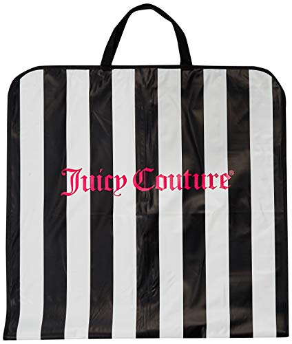 (Juicy Couture Garment Bag Dress, Suit, Gown Carrier Travel Tote Black)