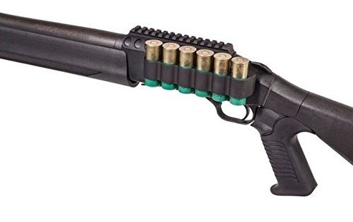 Mesa Tactical SureShell Aluminum Carrier and Rail for Mossberg 930 (6-Shell, 12-GA, 5 in)