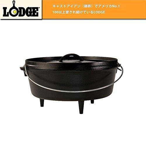 (ロッジ) LODGE ldg-027 ダッチオーブン LODGE ロッジ ロジック キャンプオーヴン/1033505/12インチ B00ZTVTLQY