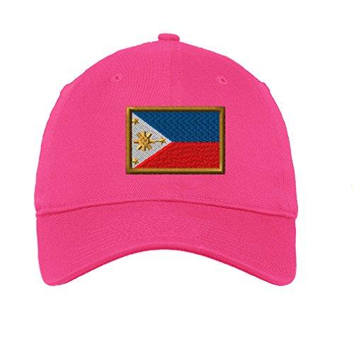 Philippines Twill Cotton 6 Panel Low Profile Hat Hot - Hot Philippines Men