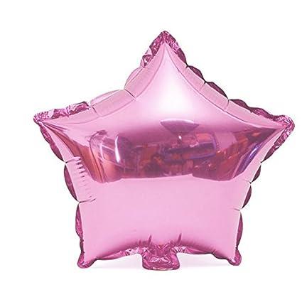 ZHUOTOP Globo estrella de 18 pulgadas boda globos de aluminio hinchable regalo cumpleaños boda boda fiesta
